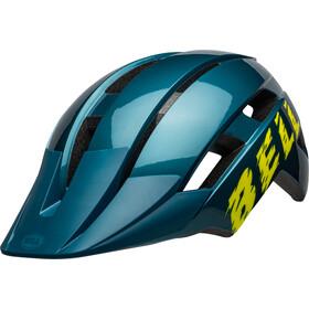 Bell Sidetrack II Helm Kinder blue/hi-viz